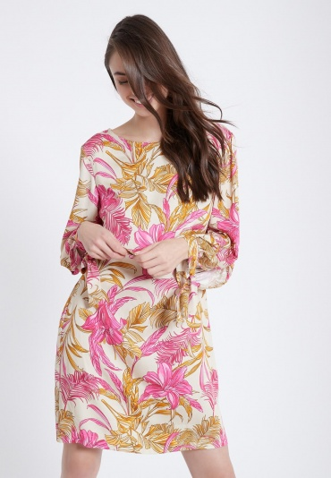Ana Alcazar Long Sleeve Dress Zady