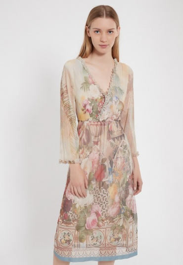 Ana Alcazar Long Sleeve Dress Zidon