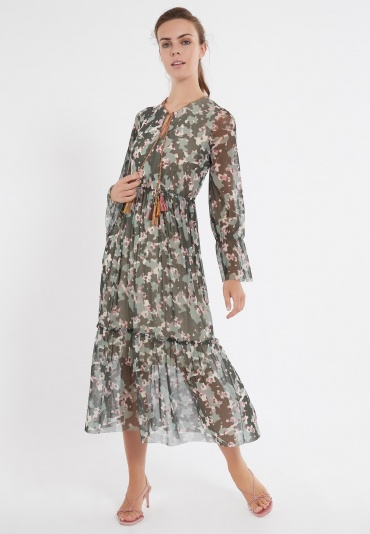 Ana Alcazar Maxi Dress Zigol