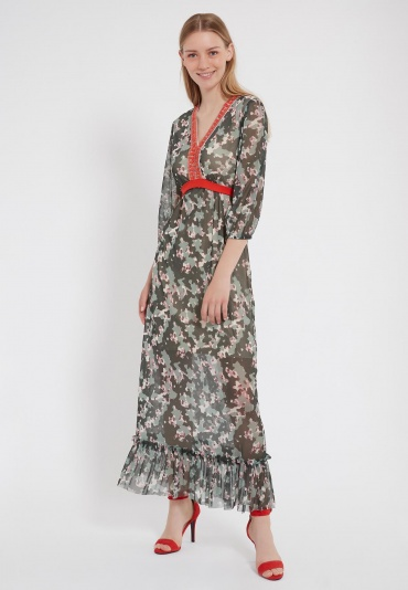 Ana Alcazar Maxi Dress Zigwa