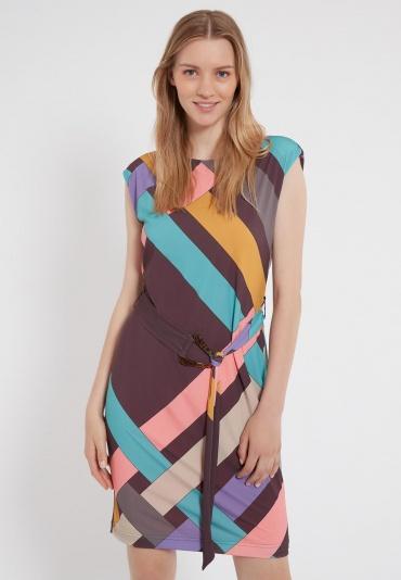 Ana Alcazar Sleeveless Dress Zima