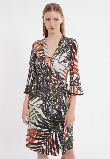 Ana Alcazar Wrap Dress Zadio
