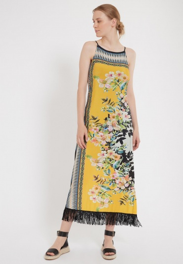 Ana Alcazar Maxi Dress Zipta