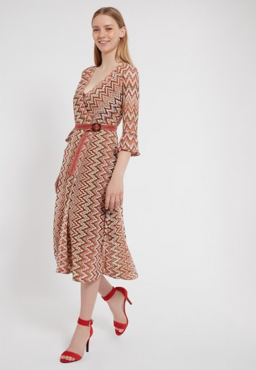 Ana Alcazar Midi Dress Zalo