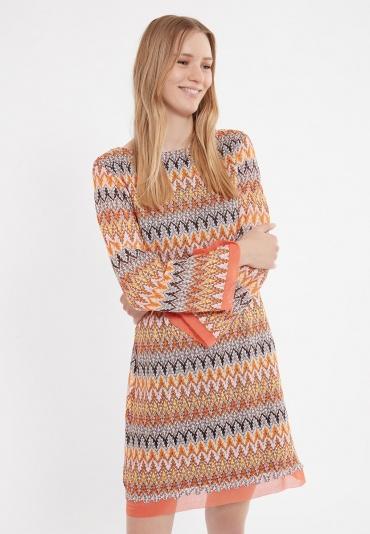 Ana Alcazar Langarm Kleid Zunny