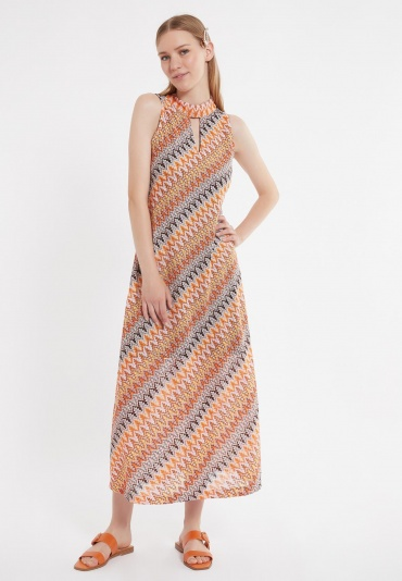 Ana Alcazar Midi Dress Zunte