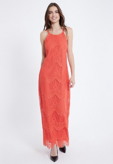 Ana Alcazar Maxi Dress Afris Red