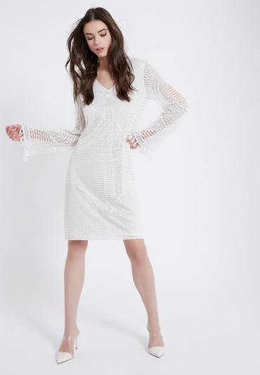 Ana Alazar Dress Agyre with Long Sleeve