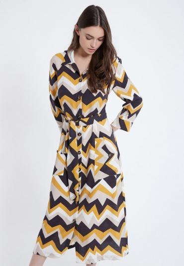 Ana Alcazar Blouse Dress Alona