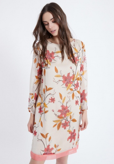 Ana Alcazar Silk Dress Alene