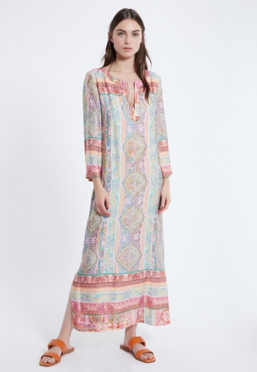 Ana Alcazar Kaftan Dress Amimi