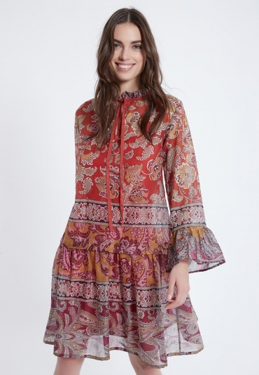 Ana Alcazar Short Boho Dress Apyle