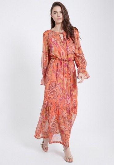 Ana Alcazar Maxi Boho Dress Asyme