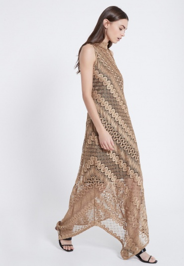 Ana Alcazar Asymmetric Dress Awoni