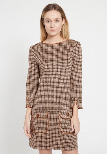 A-Linien-Kleid Behle