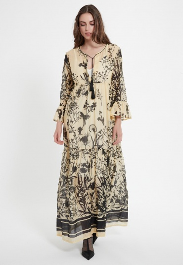 Long Boho Dress Carra