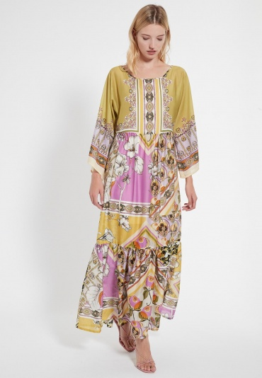 Long Boho Dress Catea