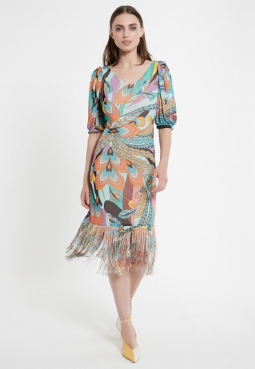 Fringed Dress Cepal