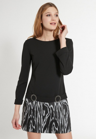 Mix Dress Ehabli