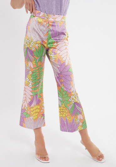 Ana Alcazar Cotton-Mix 7/8 Pants Zibon