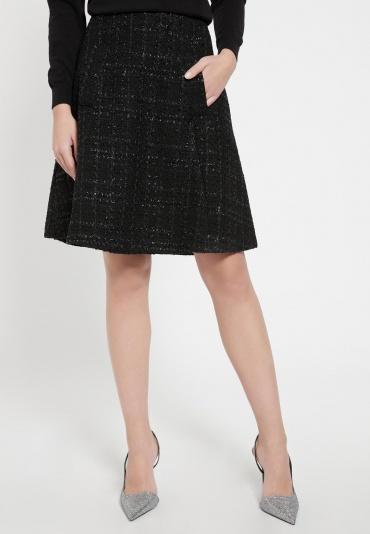Tweed Skirt Bafty