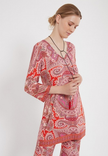 Ana Alcazar Long Shirt Zafa