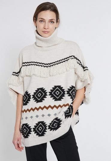 Poncho Sweater Evolys