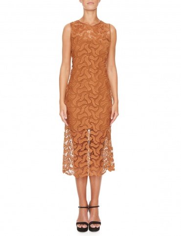 Ana Alcazar Midi Lace Dress Mabou