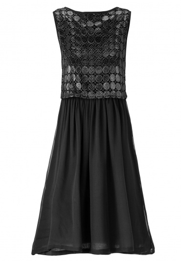 ana alcazar Black Label Chiffon Dress No. 65