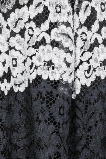 Ana Alcazar Lace Skirt Black Flaconea