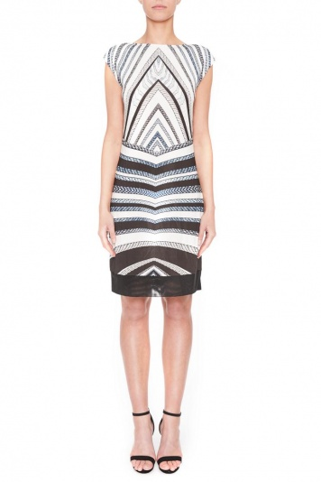 Ana Alcazar Graphic Dress Gluestis