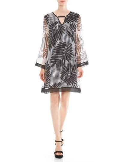 Vorderansicht von Ana Alcazar Limited Edition Tunikakleid Matea  angezogen an Model