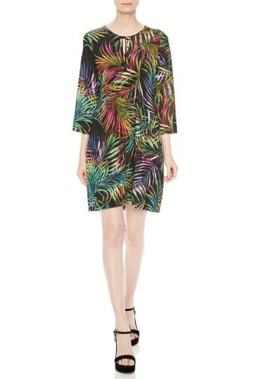 Front of Ana Alcazar Tunic Dress Norea  worn by model