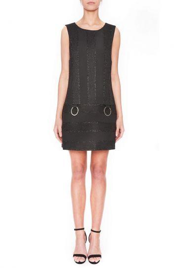 Vorderansicht von Ana Alcazar A-Linien Kleid Lacias  angezogen an Model