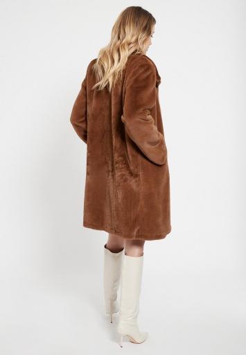 Fake Fur Coat Bacus