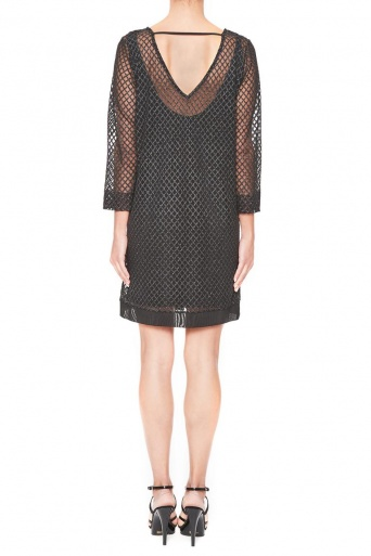 Ana Alcazar Mesh-Dress Limonea
