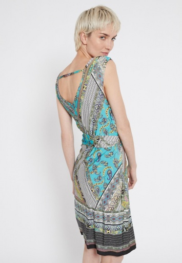 Ana Alcazar Patchwork Dress Setrari