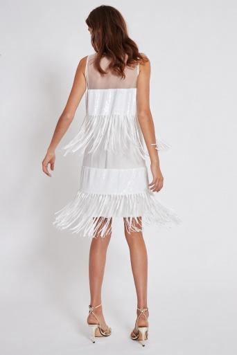 Ana Alcazar Sequin Dress Taba