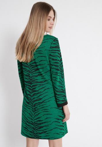 Ana Alcazar Lurex Dress Wadyn