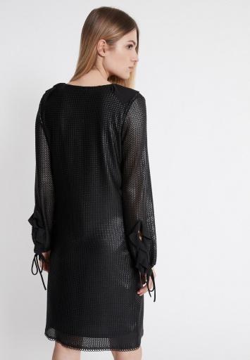Ana Alcazar Rüschen Kleid Wastis