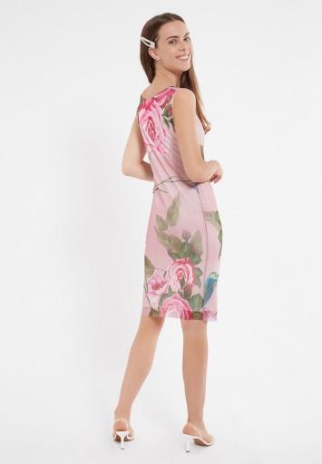 Ana Alcazar Wasserfall Kleid Ziety