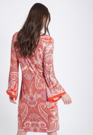 Ana Alcazar Langarm Kleid Zafah