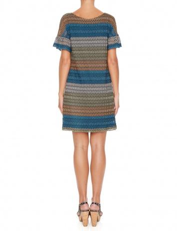 Ana Alcazar Sleeve Dress Myrthaya