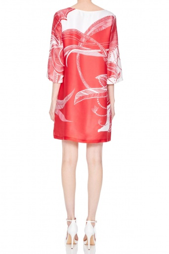 Ana Alcazar Silk Tunic Dress Nairy