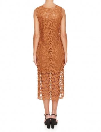Ana Alcazar Midi Lace Dress Mabou