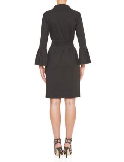 Rückansicht von Ana Alcazar Elegantes Kleid Kleo  angezogen an Model
