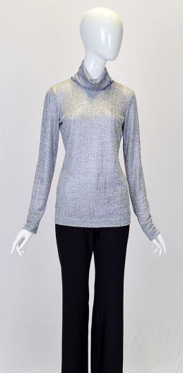 Rückansicht von Ana Alcazar Rollkragen Pullover Dunika  angezogen an Model
