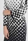 Detailed view of Ana Alcazar Deco Dress Prulisy