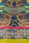 Detailansicht von Ana Alcazar Seidenkleid Cut-Out Fortiny