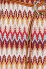 Detailansicht von Ana Alcazar Kurzarm Strickkleid Firenzia
